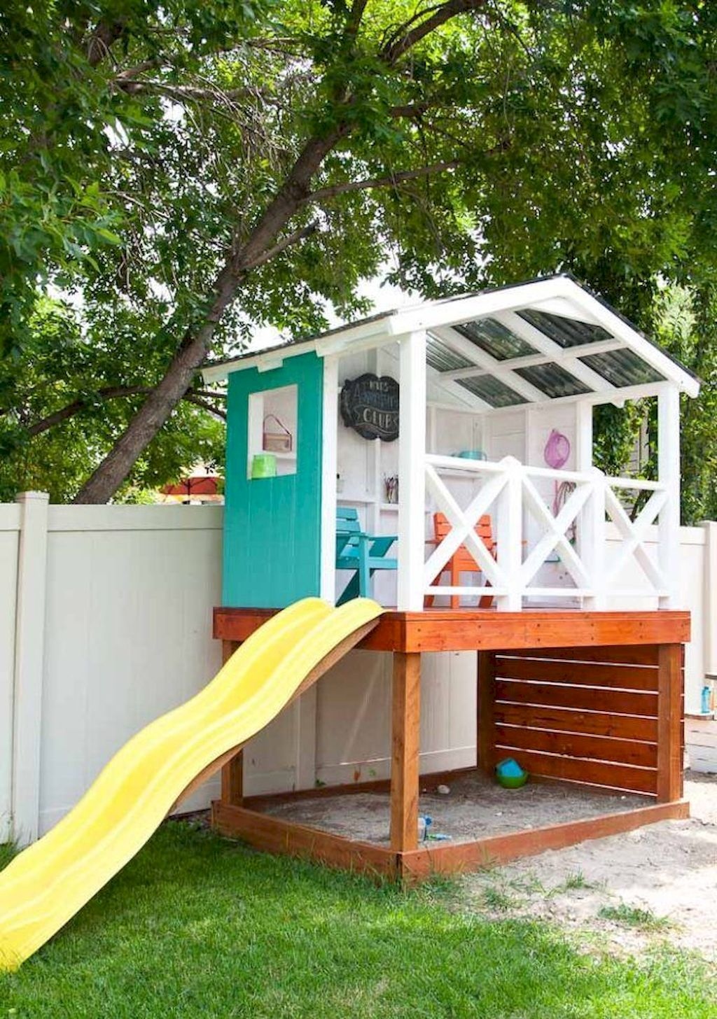 Incredible Playhouse Plan Into Your Existing Backyard Space