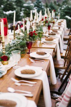 Luxurious Beautiful Winter Wedding Decoration Ideas