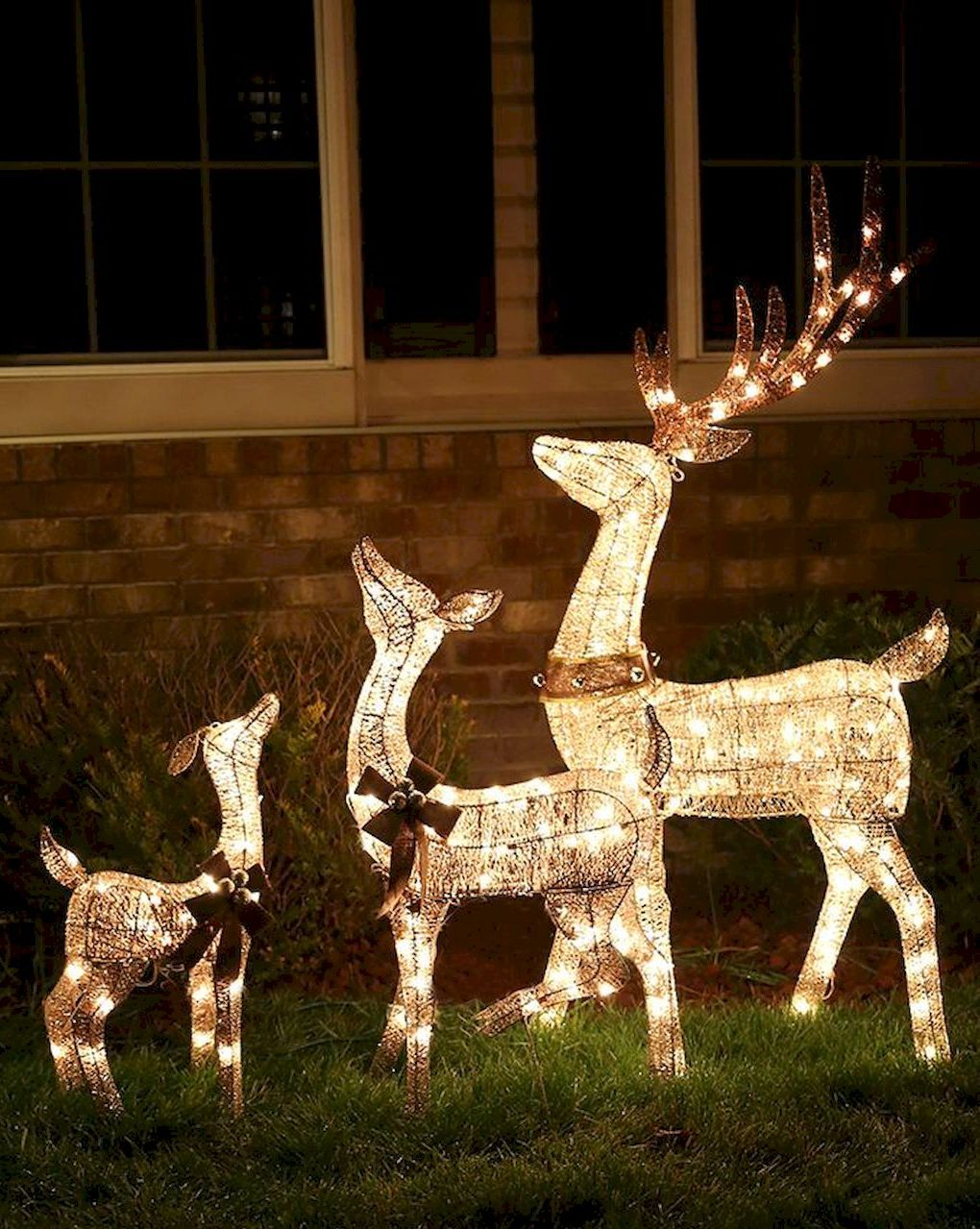 Marvelous Outdoor Christmas Lights Decoration Ideas
