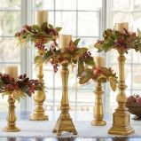 Marvelous Thanksgiving Candle Displays Ideas And Placements