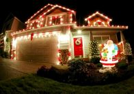 Normous Outdoor Christmas Lights Decoration Ideas