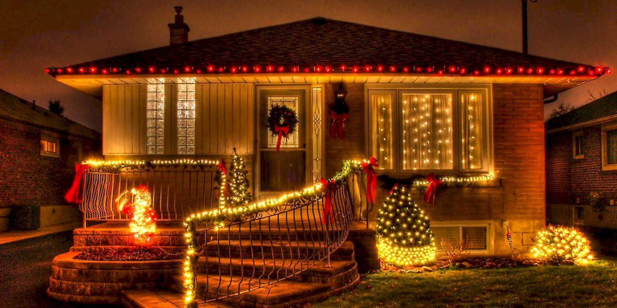 Ravishing Outdoor Christmas Lights Decoration Ideas