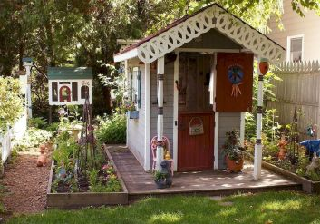 Superb Playhouse Plan Into Your Existing Backyard Space