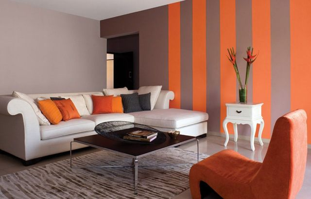 Wall Paint Color Combination Ideas in the Living Room 2