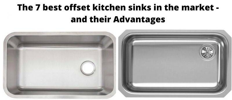 offset kitchen sink pros and cons a