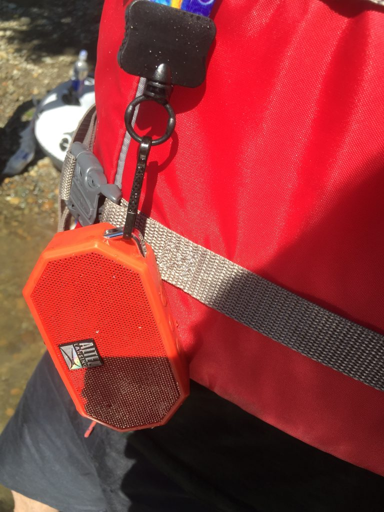 antec_lansing_waterproof_speaker_review_on_lanyard