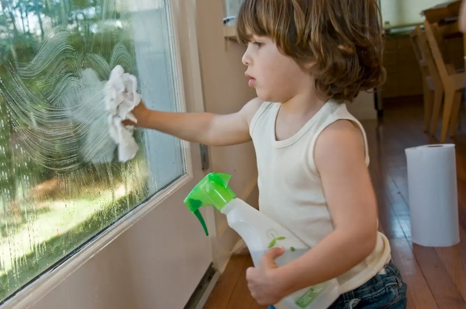 spring-cleaning windows