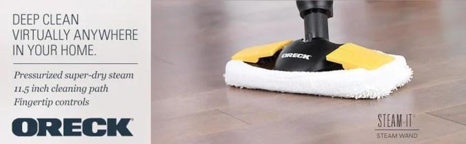 Best hardwood floor steam mop