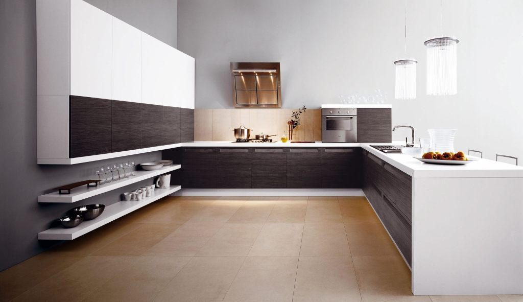 simple and useful modern kitchen