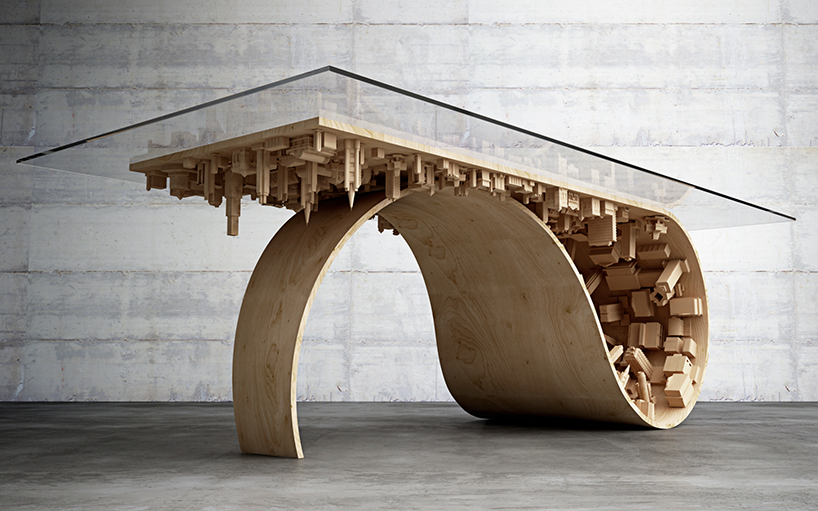 Mousarris Wave City Dining Table