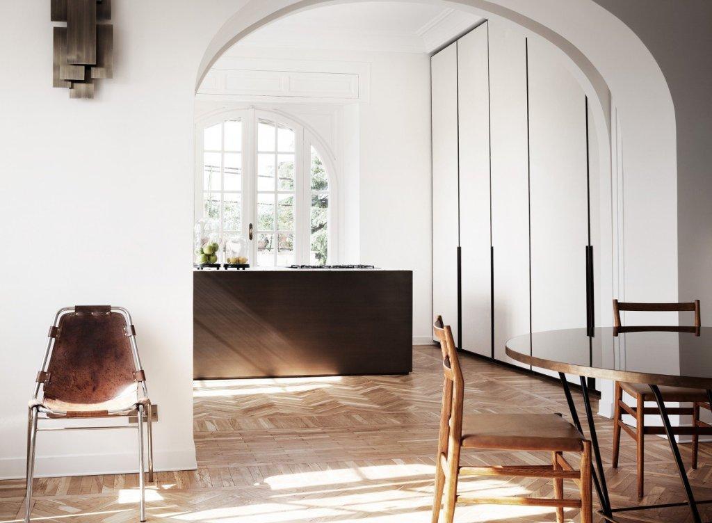 modern rome apartment arch