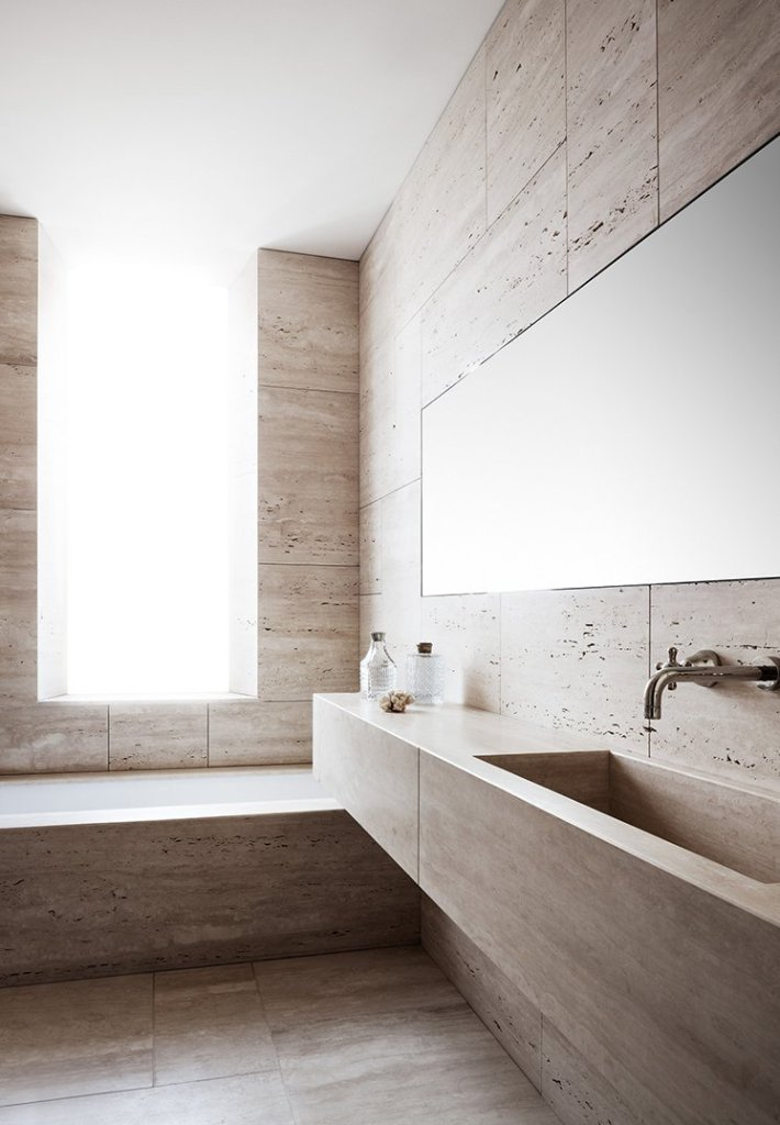 modern rome apartment bathroom