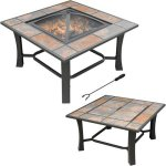 The Table That Turns Into A Fire Pit