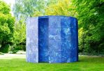 The Blue Screen Temple Installation by Mathieu Merlet Briand
