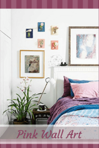 Discover The Best Unique Cute, Whimsical Pink Wall Art