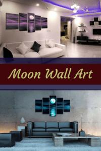 Moon-Wall-Art - moon home wall art decor