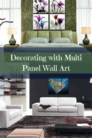 Multi Panel Wall Art - Multipanel home wall art decor