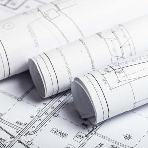 building permit plan set