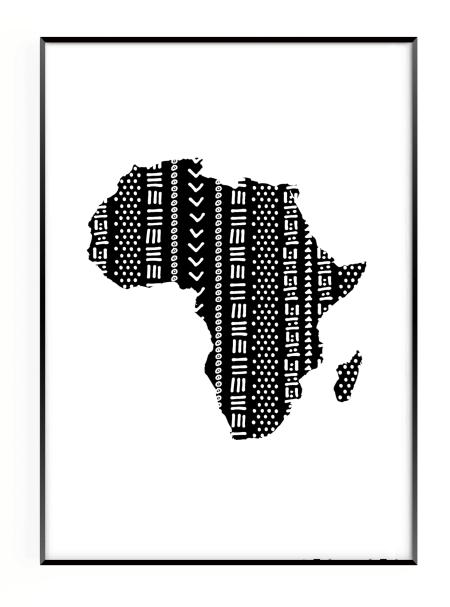 Africa boho print home with akua