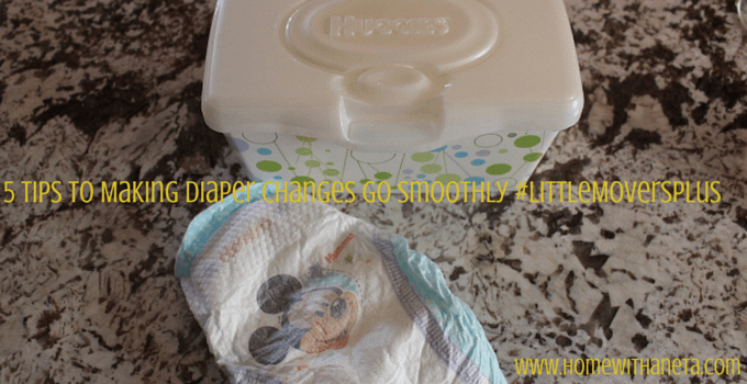 5 Tips to Making Diaper Changes Go Smoothly