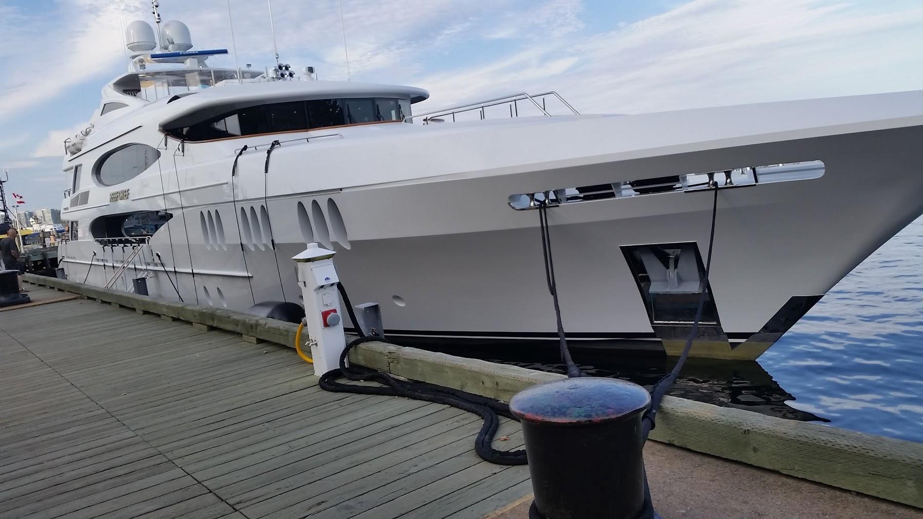 halifax boardwalk yacht