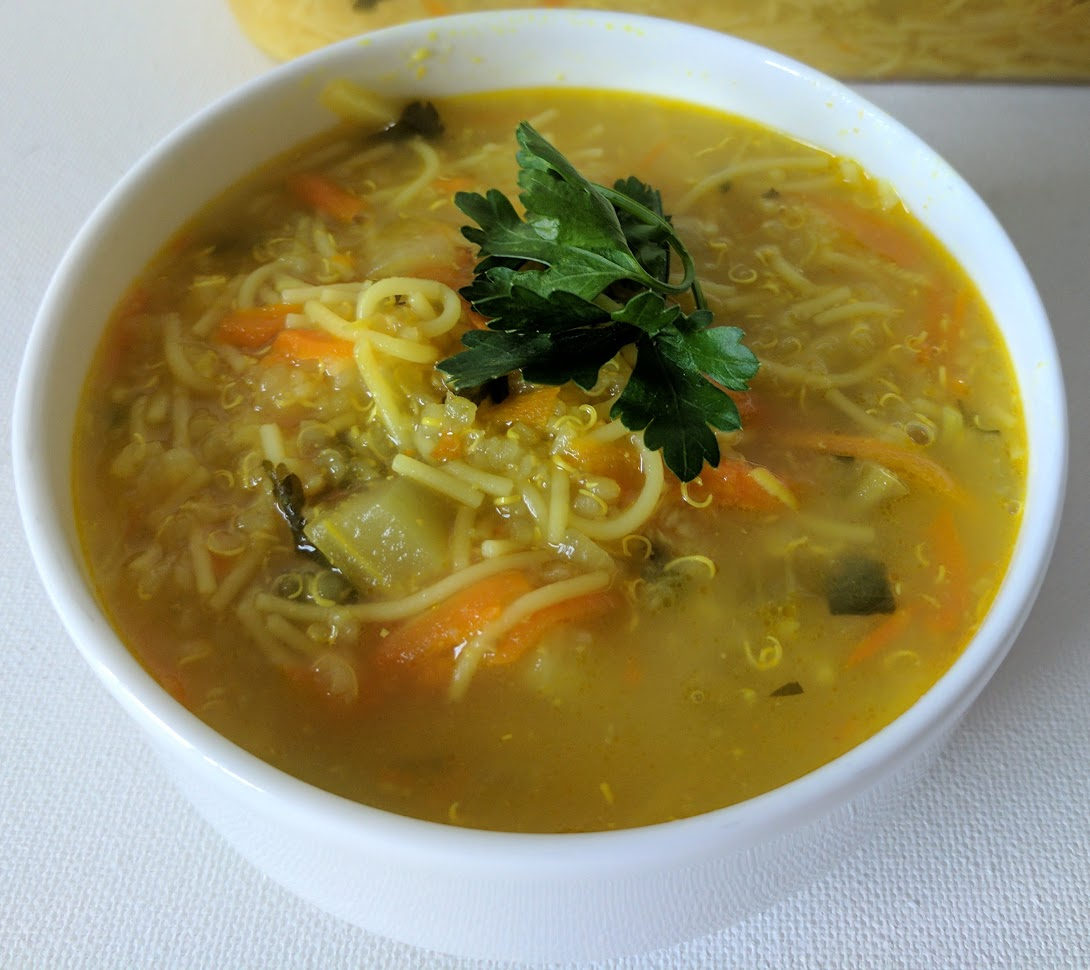 rubbermaid brilliance feel better right away soup recipe