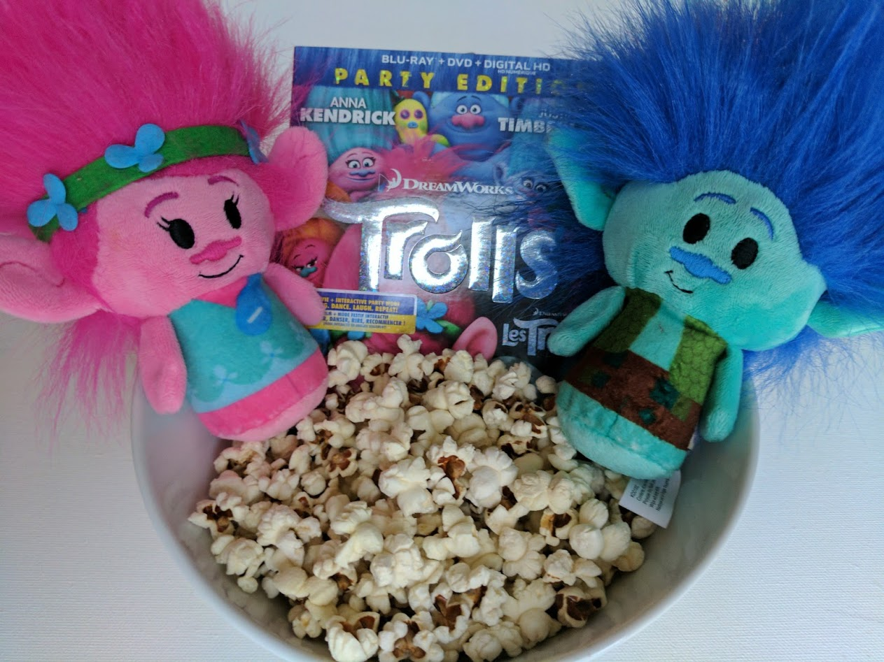 An Epic Family Movie Night and Party with DreamWorks Trolls