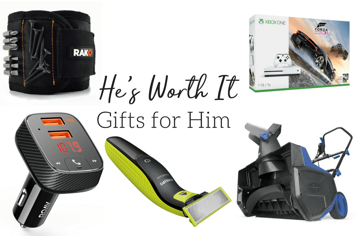 He's Worth It–Gifts for Him