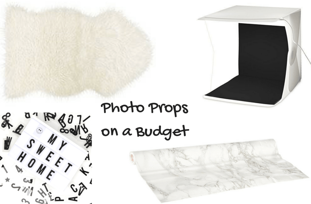 Photo Props for When You Are On a Budget