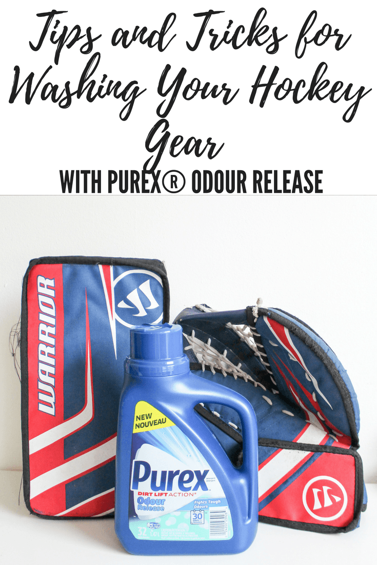 Tips and Tricks for Washing Your Hockey Gear with Purex® Odour Release #AD