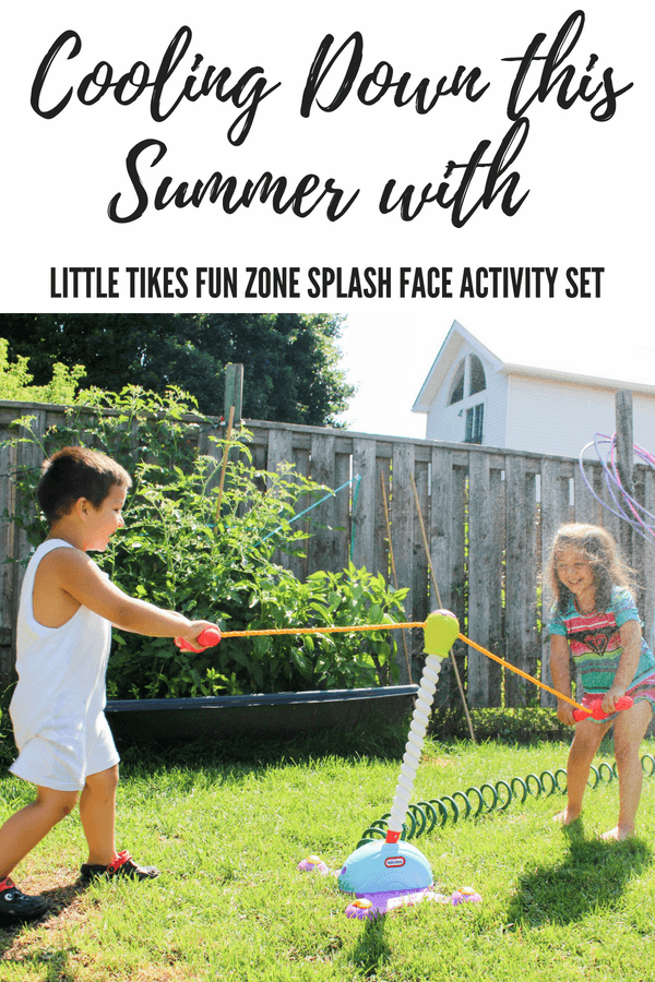 little tikes Fun Zone Splash Face