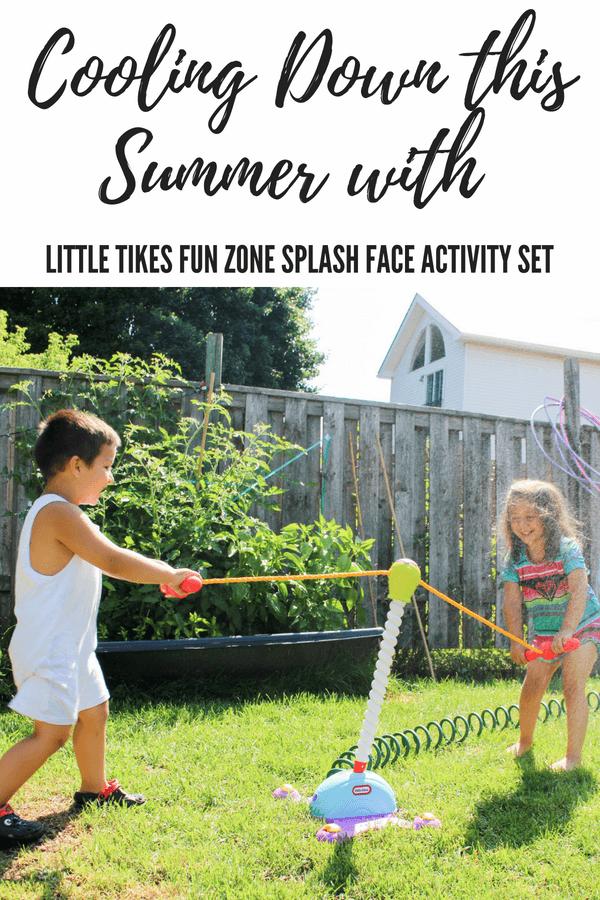 little tikes Fun Zone Splash Face
