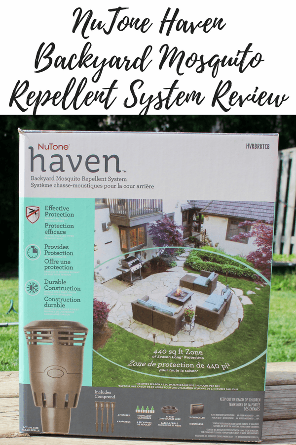 NuTone Haven Backyard Mosquito Repellent System Review