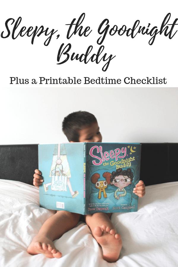 Sleepy, the Goodnight Buddy Plus a Printable Bedtime Checklist #SleepytheGoodnightBuddy