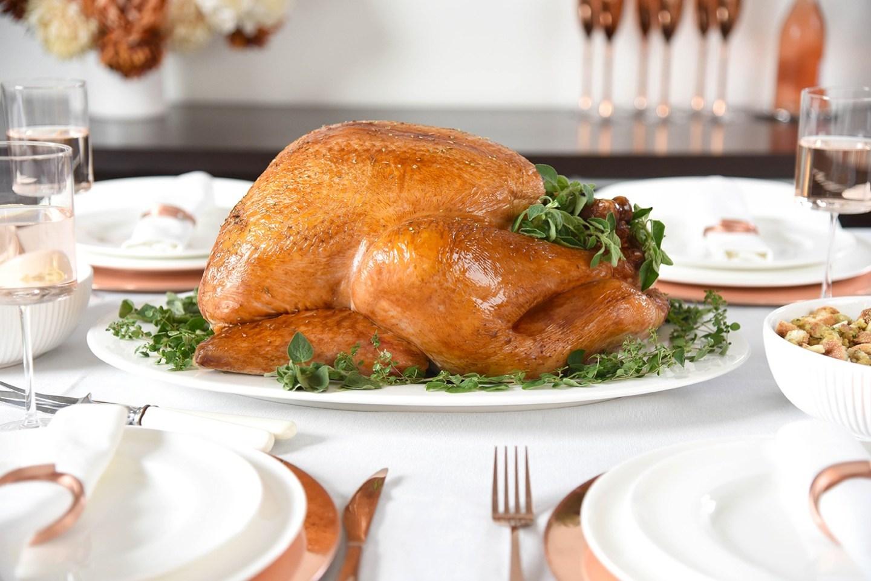 Simple + Stress-Free Thanksgiving Turkey Prep + Giveaway