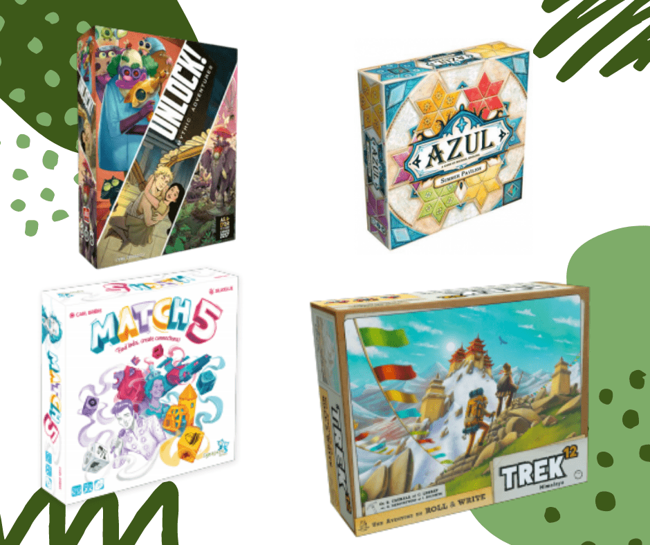 4 Asmodee Games to Play This Summer