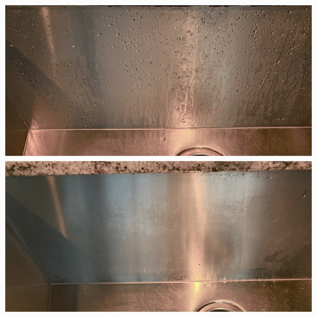 bar keepers friend before and after