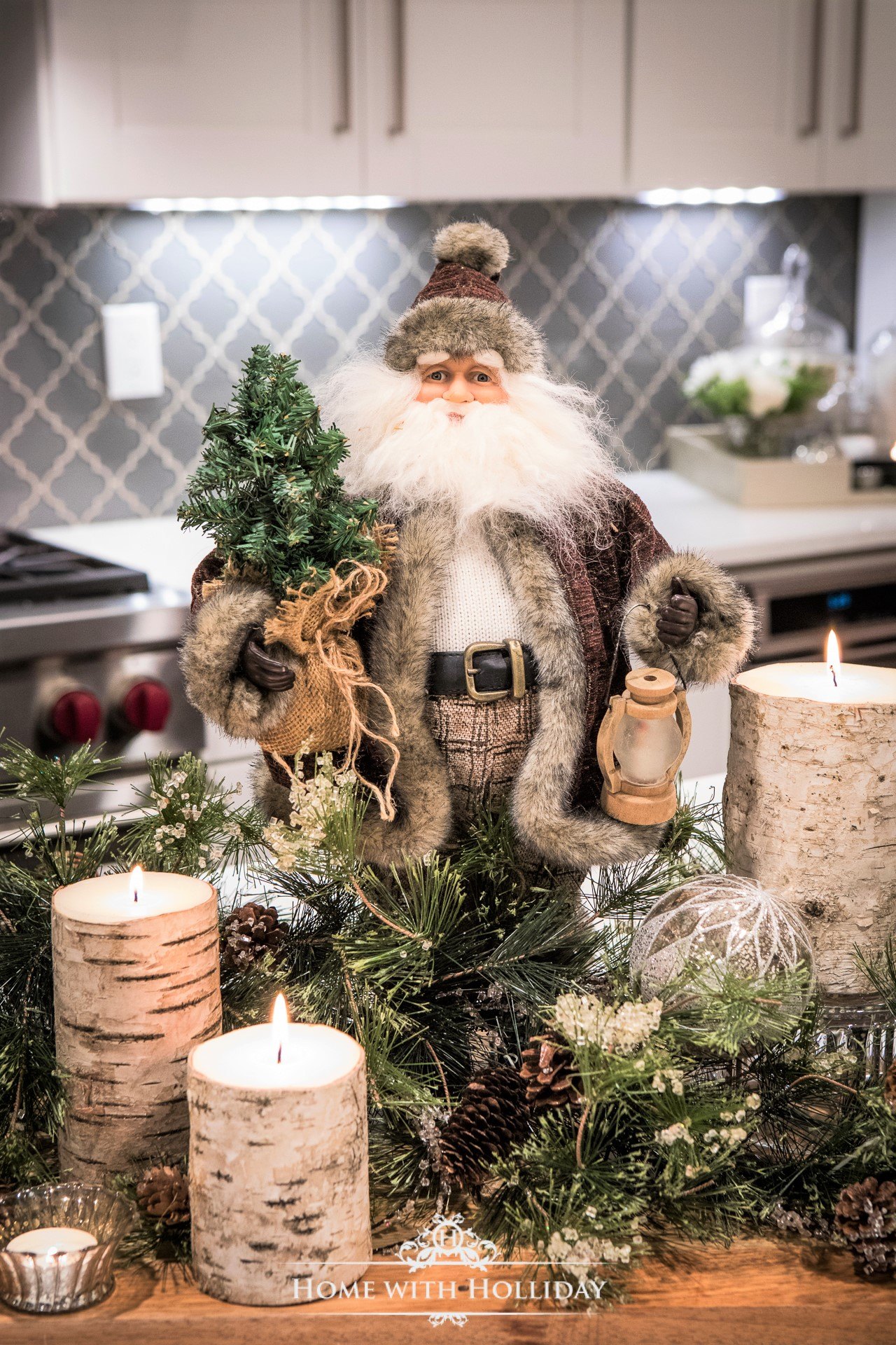 Christmas Home Tour - Kitchen - Home with Holliday