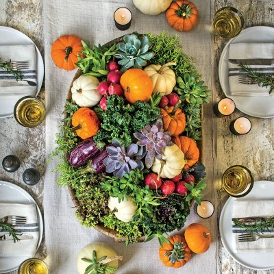 Creative Ideas for Fall or Thanksgiving Table Settings and Home Decor 6