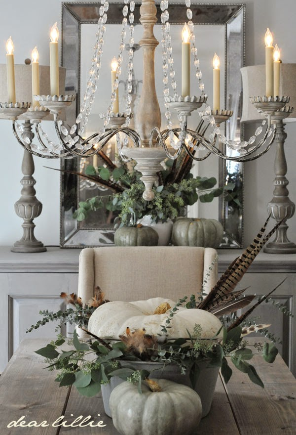 Creative Ideas for Fall or Thanksgiving Table Settings and Home Decor 1