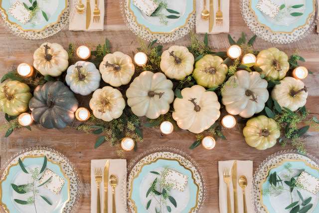 Holiday Hosting at Home - Fall Tablescapes and Home Decor
