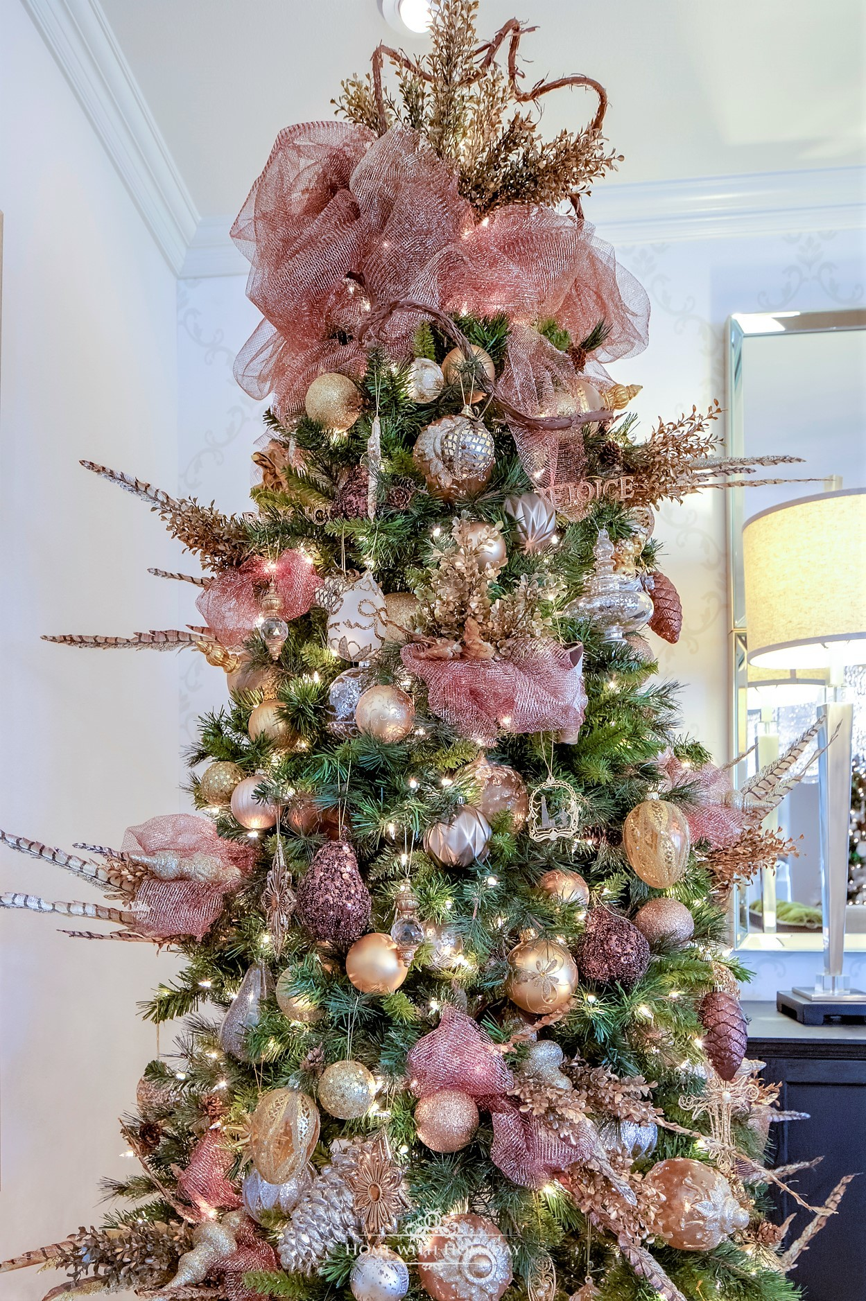 My Mixed Metallic Christmas Tree - Home with Holliday