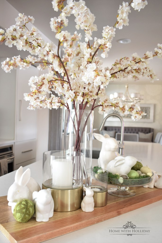 A Simple Spring Vignette Refresh - Three Ways - Home with Holliday