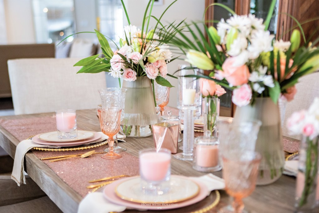 Mother's Day Table Setting Ideas- Home with Holliday