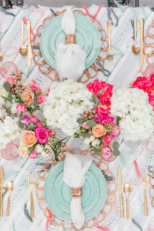 Beautiful Backyard Party Ideas: Anthropologie Inspired Dinner Party - Home with Holliday