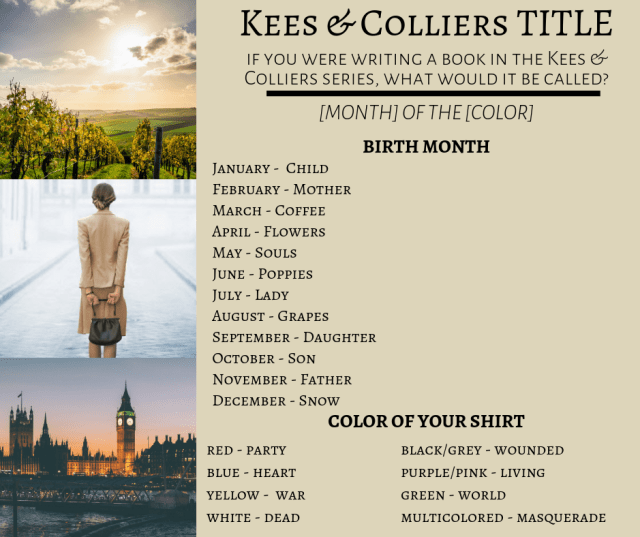 Kees & Colliers Book Title