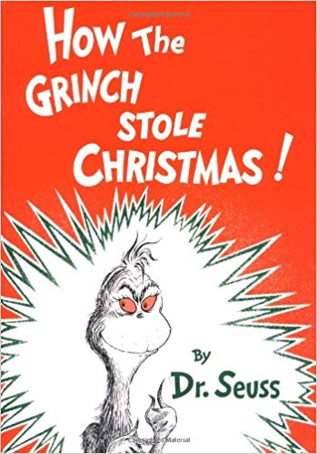 How the Grinch Stole Christmas! Featured book from Homework and Horseplay