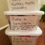 November Dollar Tree STEM Boxes from Homework and Horseplay