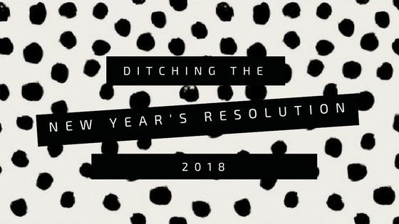Ditching the New Year's Resolutions: One Word Challenge