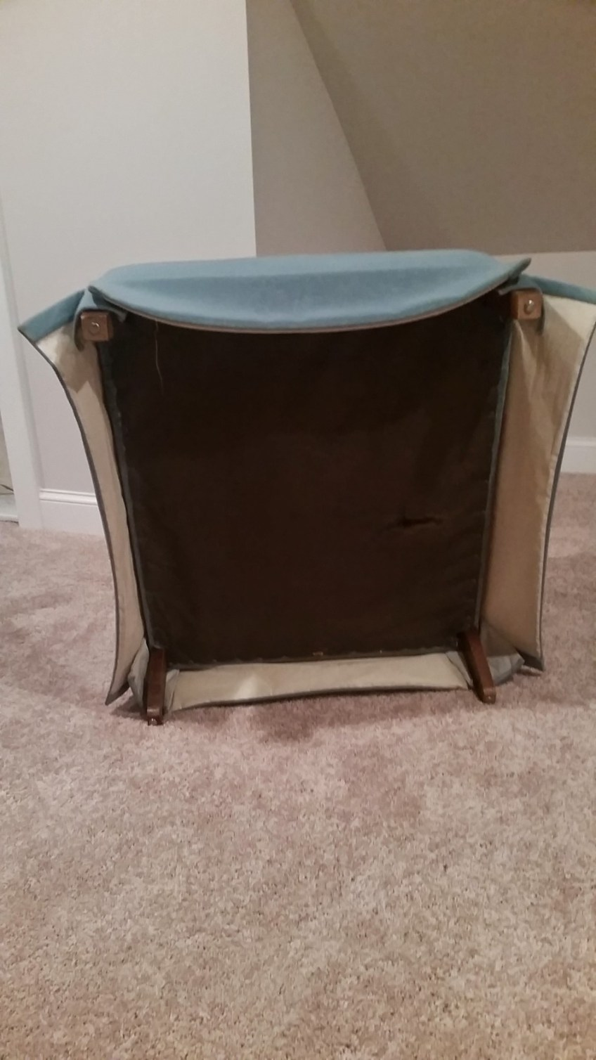 Updating Old Chair Skirts | HomeWork Design Co.
